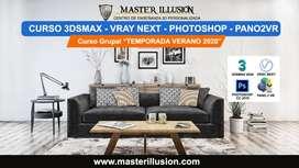 CURSO 3DSMAX 2020 y VRAY NEXT para Arquitectura de Interiores / MASTER