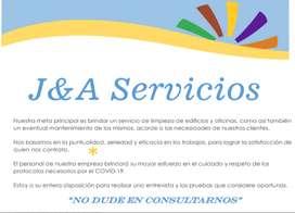 Servicio de limpieza de edificios y oficinas