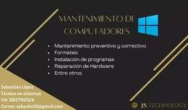 Servicio técnico para computadores