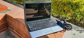 Portátil Compaq, Intel dual core,500 dd, 2 gb de ram, 14 pulgadas