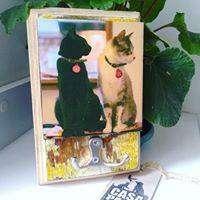 Percheros Personalizados con la foto de tu mascota / Precios: 28.000, 38.000, 48.000 pesos.