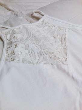 Vendo Vestido Color Marfil Talle 2