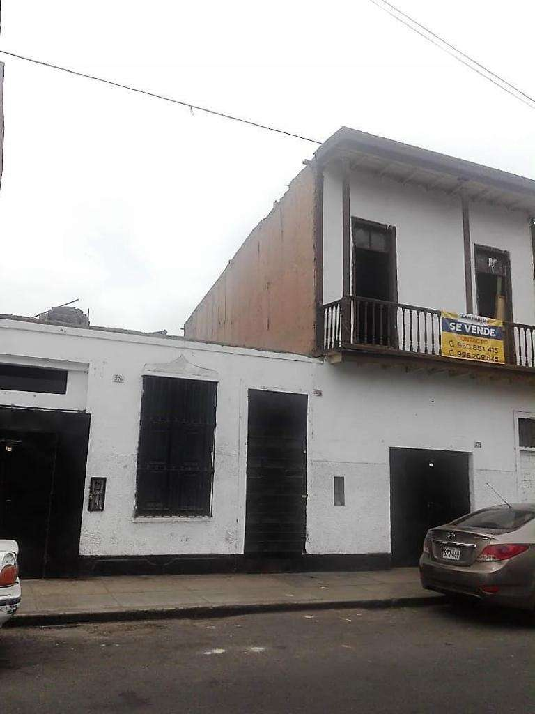 Vendo Casa Como Terreno Zona Com. Barranco Us350,000 0
