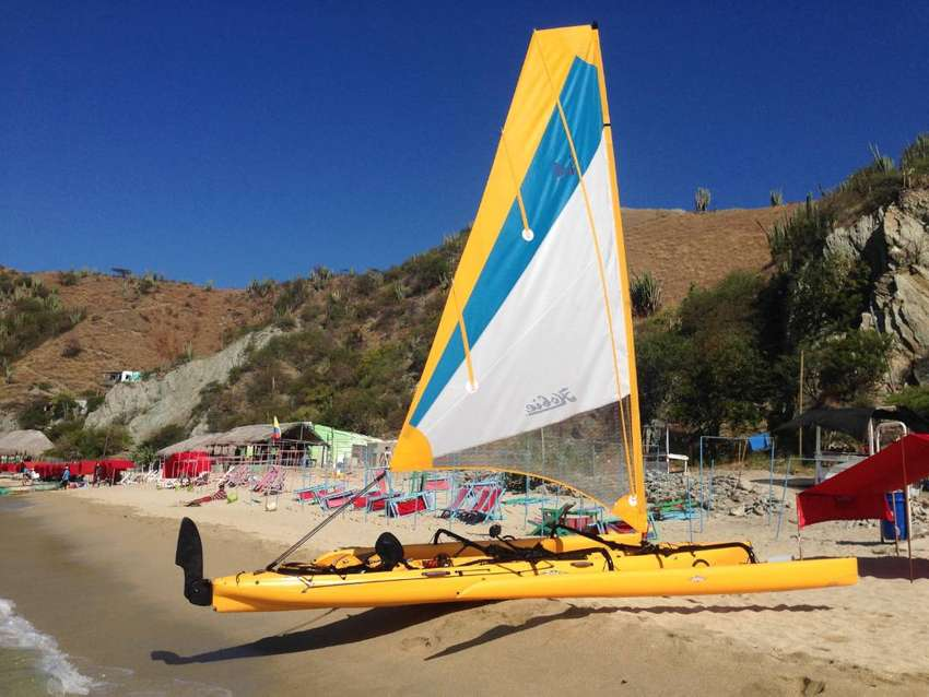 Hobie Tandem Island -Velero- kayak- con pedales 0
