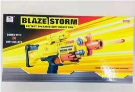 Nerf Pistola Automatic Dardos Blazestorm Jugu 20 Pcs
