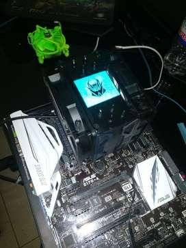 Intel Core I5 6600k 4.6ghz Board Z170