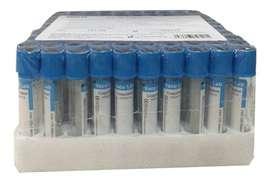 tubos azul para plasma caja x 100