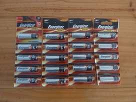 Pilas Baterías AA Alcalinas - Paquete de 20 pilas