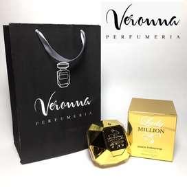 Perfume Lady Million Mujer Paco Rabanne Original 80 Ml Veronna