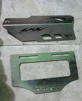 Accesorios de lujo en acero inoxidable para Bwis 3 FI