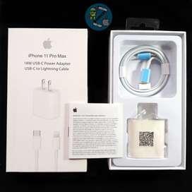 Cargador carga rápida de Apple para iPhone
