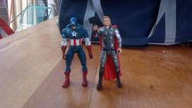 Capitan America Y Thor de Avengers