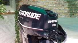 Motor p lancha  Evinrude Etec 25 HP pata larga