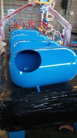 Papelera modelo cilindrico en fibra de vidrio