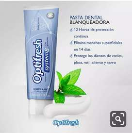 Cremas dental blaqueadora