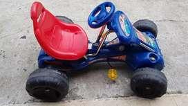 Carro de pedal