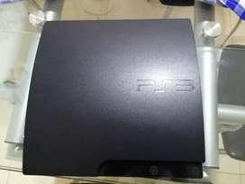 PlayStation 3 slim 500GB+ 20 juegos físicos + 2 controles