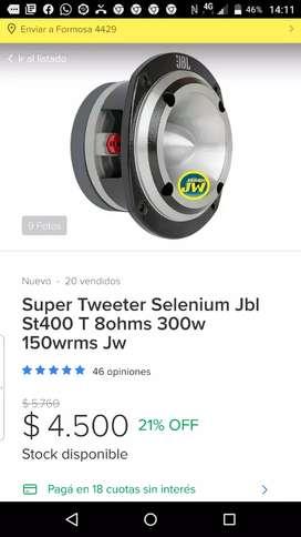 Vendo super tweeter st400
