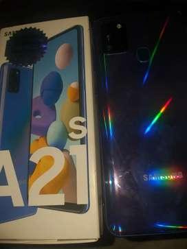 Vendo Samsung A21s de 64gb  1 semana deuso
