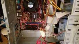PC Celeron 430 completa funcionando