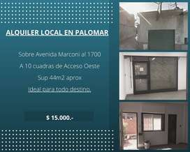 Local Sobre Av Marconi - Palomar