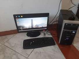 Computador mesa completo ganga
