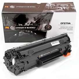 Cartucho de tóner para HP LaserJet PRO M12w/M12A/MFP M26nw/N26A/CF279A