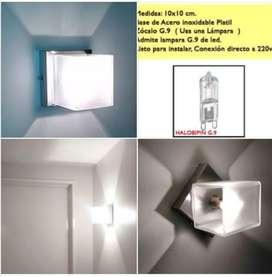 4 Apliques Multidireccional De Interiores Led Moderno Deco