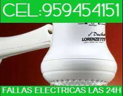 ELECTRICISTA A DOMICILIO DUCHAS ELECTRICAS .AREQUIPA,SOLUCION DE FALLAS ELECTRICAS.CEL:9594541,51.