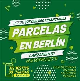 !LANZAMIENTO! Parcelas financiadas directamente en berlin