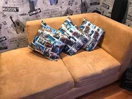 Acogedor sofa en buen estado