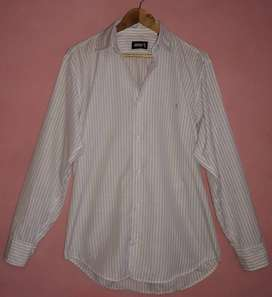 CAMISA MARCA POLO M/LARGAS P/HOMBRES TALLE L