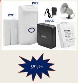 KIT 2 Alarma Smart Home WIFI