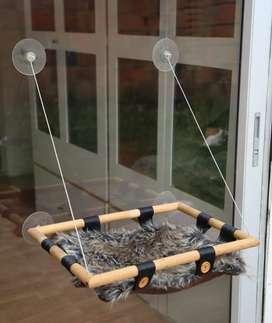 Hamacas para ventana para gatos