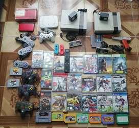 Consolas y juegos varios