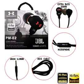 Auriculares manos libres JBL WAR WARS PM-20 Originales