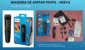 Maquina de afeitar phlipis Nueva