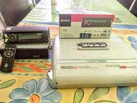 Vendo Potencia Y Stereo Sony