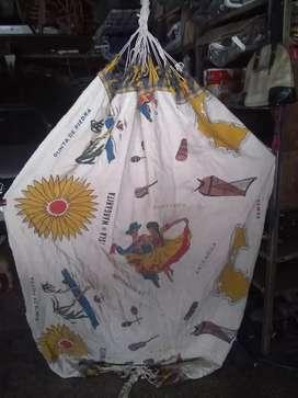 Hamaca paraguaya sin uso estampada