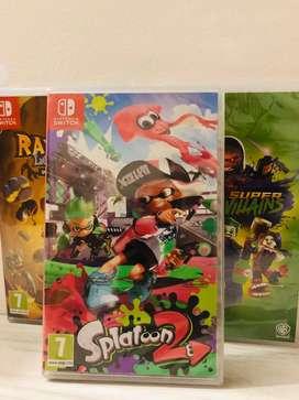 Splatoon 2 Switch Juego Nintendo Switch