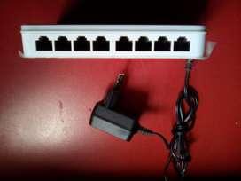 switch d-link des-1008a 8 puertos
