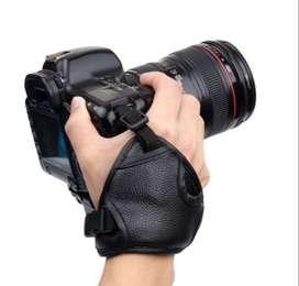 Correa De Mano En Cuero Suave Para Cámara Canon Nikon Sony