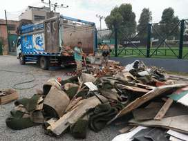 Eliminación de Desmonte Embolsados Escombros Maleza Desusos en general