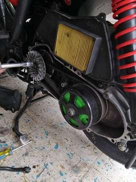 Repuestos para moto bws 125.