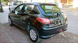 Peugeot 206 full nafta 1.6 modelo 2008