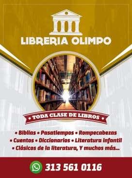 Toda clase de libros nuevos y usados desde 3.000 pesos en adelante