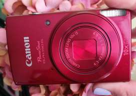 Canon Power Shot ELPH 190 IS, color Rojo