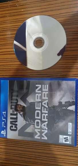 Call of duty - modern warfare (PS4)