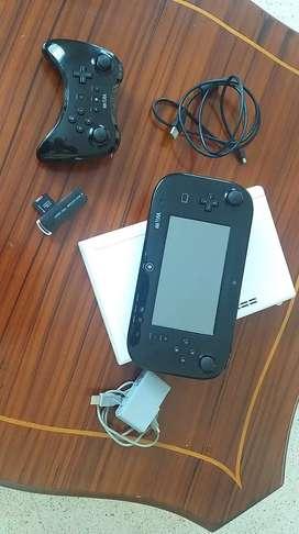 Wii u con Juegos vendo o cambio