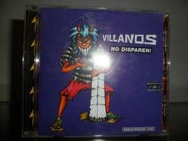 Villanos no disparen cd